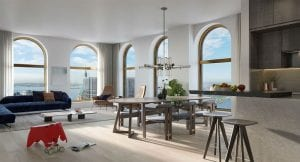 2 Bedrooms 2.5 Bath Battery Park NYC Condo For Sale