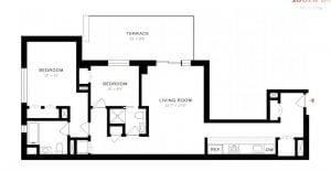 Harlem 2 bedrooms home for sale