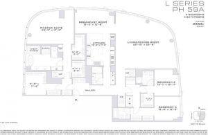 financaial district 3 bedrooms penthouse for sale