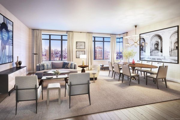Amazing Two-Beds Condo For Sale in Upper West Side