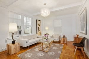 tunning Two Bedroom Co-op For Sale in Upper West Side